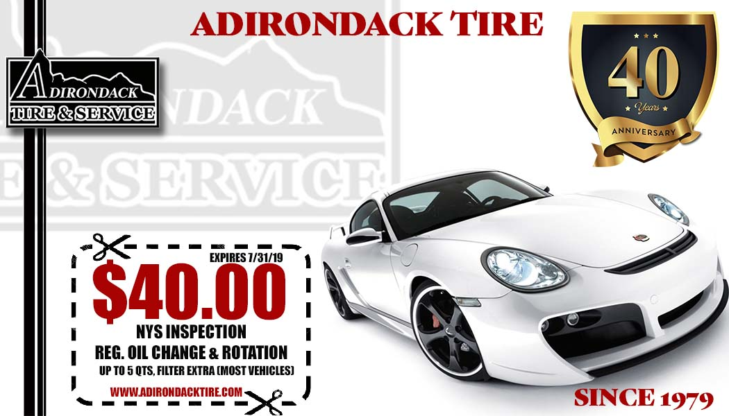 Adirondack Tire & Service | NY and VT Tires And Auto Repair