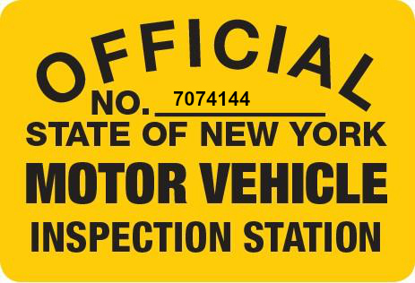 Ny state vehicle safety and emissions inspections for Washington state motor vehicle emission inspection station