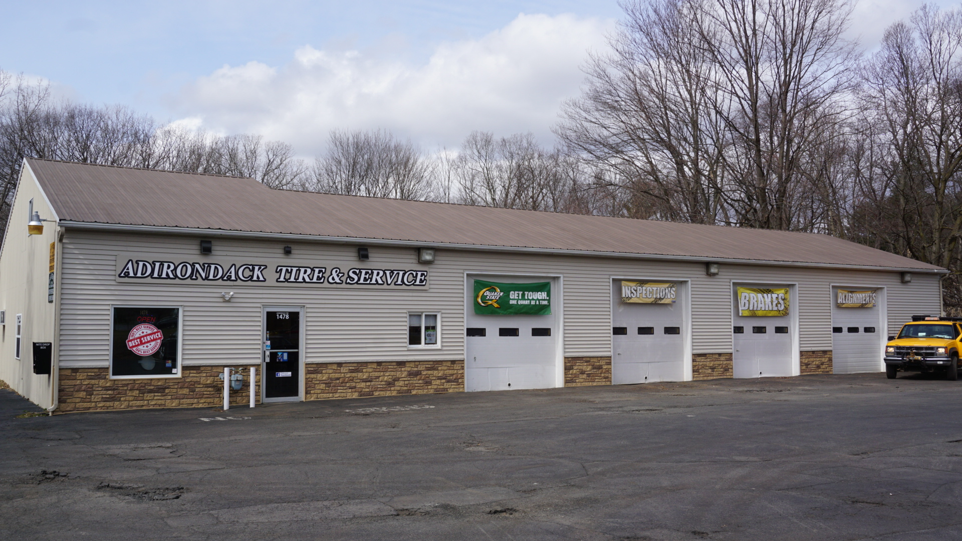 Tire Places Near Me Open Now >> Adirondack Tire Service Tire Auto Repair Wheels In Clifton